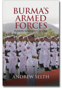 The cover of Burma's Armed Forces, by Andrew Selth